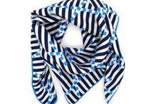 Niki Fulton - scarves / Scarves, designed, printed and stitched in Great Britain. Designed by Niki Fulton, Edinburgh, Scotland.