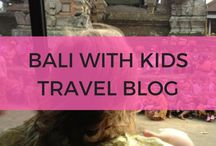 Bali with Kids Travel Blog / Traveling to Bali with Kids? Find all our blog posts from our blog Rolling Along With Kids to help plan your Bali family holiday