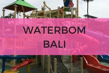 Waterbom Bali / The best tips on going to Waterbom Bali with kids. Families will have the ultimate day out at this fantastic Bali water park.