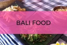 Bali food / Bali restaurants and cafes including the best coffee spots and places to eat with kids in Bali