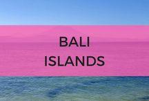 Bali Islands / Islands around Bali including Lombok, Nusa Lembongan, Gili Islands and much more.