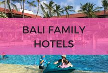 Bali family hotels / Bali kids hotels that are great for families. Including kids clubs, water slides and much more