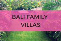 Bali family villas / Find the top private villas in Bali for families. Includes kid friendly pool villas with pool fences.