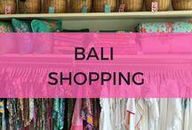 Bali Shopping / Bali shopping tips with inspiration especially for shopping in Seminyak Bali