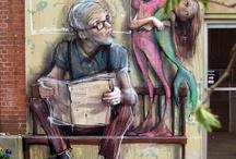 l'art dans la rue ....