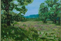 Painting series - Landscapes / Paintings of landscapes and nature.