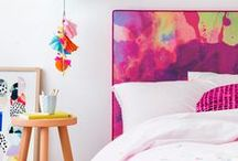 DIY Bedroom / Headboard & Feature Wall Ideas