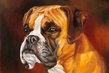 My Work* Custom Oil Pet Portraits / Custom Pet Portraits from Photos. Elena Romanova Pet Art. www.7portraits.com