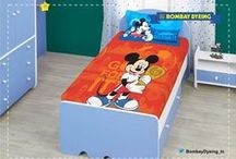 Disney Collection-The perfect bedsheets for your kids room / Let your kids favorite disney characters come to life with our Disney Collection