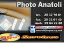 PHOTO ANATOLI LIMASSOL - CYPRUS +357 25 32 70 61 / PHOTO ANATOLI  PROMAHON ELEFTHERIAS STR. OPPOSITE FAMAGUSTA CLUB  Email : anatoli@logos.cy.net  Tel: +357 25 32 70 61  mob : +357 99 64 22 80  LIMASSOL  CYPRUS / by PHOTO ANATOLI    - CYPRUS