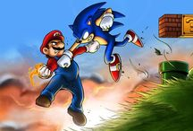 Mario & Sonic / The biggest game rivalry in the history of gaming (I think...)
