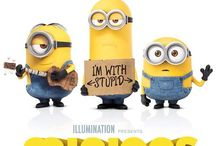 Minions / Pics of the lovable and hilarious minions from the film Despicable Me