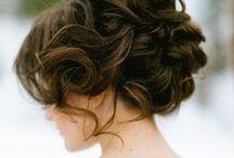 Hair | Styles / Updos. Braids. Curls.