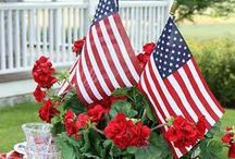 Red, White and Blue / by Annalisse ~