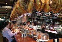 Tapas for lunch / Random images from tapas bars I've visited in Spain