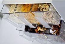 Stauraumwunder Schütten / Küchenschütte sind echte Stauraumwunder. Nicht nur in der Küche