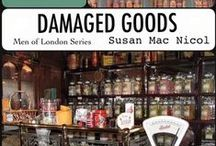 Damaged Goods - Men of London Book #7 / Sometimes how we see ourselves isn't how others see us. Jackson Grady needs someone to believe in him; Kildare Rowan just needs someone to love. Perhaps they'll figure it out in time.