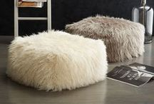 Stools, Ottomans, and Poufs