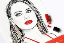 Meine Zeichnung / Zeichnungen, Portraits und Illustrationen. Gezeichnet und gemalt mit Buntstiften, Aquarellfarben und Tusche. Drawing and paintings. Beautiful Art.