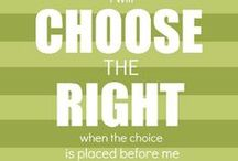 Primary ~ Choose The Right