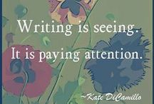 Writing & Blogging / Writing projects, how-tos, and inspiration.