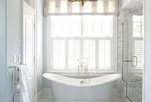 Bathroom Inspiration / Pretty bathrooms.