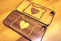 PRiNK your phone / Wood cases for your devices! Now available for iPhones and Galaxy phones at www.prinktech.com.