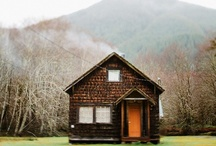 Cabin / Since I was a child, I have always wanted a cabin in the woods. / by Martin Axe