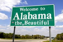 Alabama The Beautiful! / Towns, historical sites, colleges and other items concerning the  great State of Alabama! / by Shirley Hamm