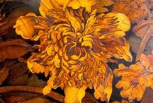 Marquetry - Nature / Inlaid work made from small pieces of variously colored wood or other materials. / by Kathy Fox-Lee