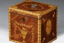 Marquetry Tea Caddy / by Kathy Fox-Lee