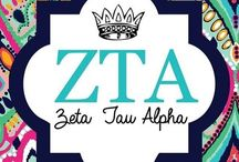 College: Zeta Tau Alpha / by Laura Ritcheson