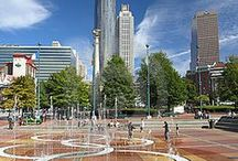 Atlanta, Georgia / Atlanta, Georgia is one of my favorite weekend getaways. Whether it is for a day trip or a weekend, you will find plenty sights to see in this city.  This city is very kid friendly...Six Flags over Georgia, Coca-Cola Museum, Zoo Atlanta , Georgia Aquarium, CNN Center, Turner Field-Home of Atlanta Braves, and lots of shopping and wonderful restaurants. / by Shirley Hamm