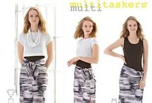 Multitaskers® for Simplicity / Multitaskers®. Clothes that work as hard as you do.® / by Simplicity Creative Group