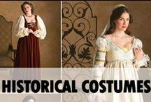 Historical Costumes / Historical costume from different eras - Medieval, Renaissance, and Civil War - made with Simplicity patterns / by Simplicity Patterns