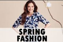 Spring Fashion / Stylish patterns to help build your spring wardrobe! / by Simplicity Patterns