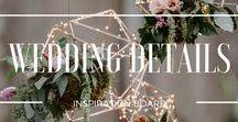 WEDDING DETAILS / Wedding details photos and wedding inspiration photos