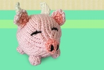 Toys: Animals: Cute Knitting Patterns / Just want to share my knitting projects :)