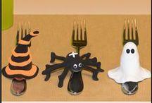 DIY Bastelideen Halloween / Tolle Bastelideen für Halloween mit kostenlosen bebilderten Step-by-Step Bastelanleitungen.