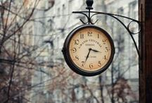 Outdoor Clocks / Clock towers, street clocks....