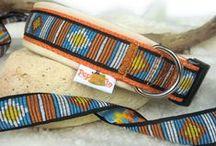 Hundehalsbänder & Co. / eine Auswahl an individuellen, maßgefertigten Halsbändern für Hunde. Zu finden auf www.peppetto.de