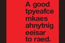 typo & lettering