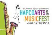 HAPCO Arts and Music Festival 2015 / HapCO Music Foundation presents the 9th Annual Town of Oakland Arts & Music Festival. June 13th 2015