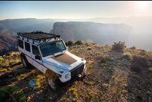 Overland Journal G-Wagen with Slimline II Roof Rack / Grand Canyon Trip with Overland Journal making the Slimline II Roof Rack look good on a white G-Wagen.  #OverlandJournal #FrontRunner #Overlanding #GrandCanyon #SlimlineIIRoofRack #mercedes #gwagen #mercedesGwagen