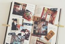 J O U R N A L . / the lovely art journals | smash book is something I called a beautiful mess. / by Chananchida Ch
