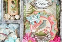 Altered universe / Inspiration for card's, mixed media, altered art, journals, tags, charms, embellishments. Each and every last one I absolutely love, so pin your heart out. / by Taneisha Wilson