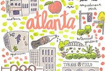 Atlanta. / | capital of this great peach state |