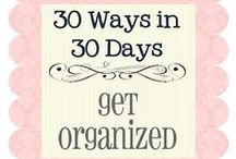 Organizing Ideas / Wonderful ideas to get yourself better organized. / by SCLadyDi Jewelry