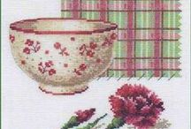 kitchen / cross-stitch