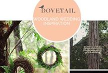 / woodland weddings / / Woodland has a magical atmosphere, and makes for a beautiful wedding theme. Whether you go earthy and natural or full-on enchanted forest (or a mixture of the two), there is no doubt that this will be one unforgettable wedding. I love the use of moss in weddings, and a birds' nest ring holder is just adorable. Using woodland illustration on your invitations or table names adds a whimsical and fun feel.
